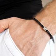 Плетеный браслет «Amulet»