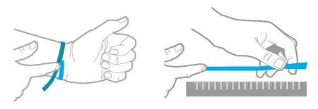 как измерить длину браслета